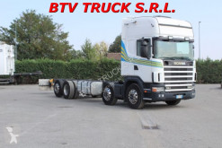 Camion châssis occasion Scania 114 G 380 MOTRICE 4 ASSI A TELAIO CARROZZ. 9,60 MT