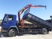 Used three-way side tipper truck MAN 14.224