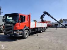 Camión caja abierta Scania P 380