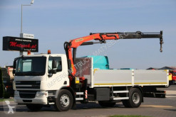 Ciężarówka platforma DAF CF 75.310 / 4X2 /BOX -6,5M+CRANE PALFINGER 16001