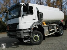 Used oil/fuel tanker truck Mercedes Axor 1833 KN