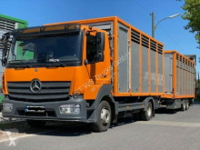 Camion remorcă transport animale Mercedes 824L Einstock Vollalu