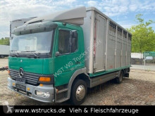 Camion bétaillère occasion Mercedes Atego Atego 1228 L KABA Doppelstock Vollalu