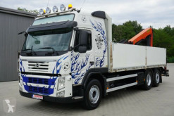 Camion plateau ridelles Volvo FM FM 500 Kran PK 21001 L-Lenkachse-Xenon