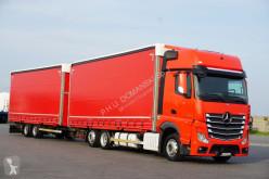 Ciężarówka firanka nc MERCEDES-BENZ - ACTROS / 2545 / E 6 / ACC / BDF ZESTAW PRZESTR + remorque