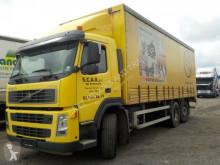 Camion cu prelata si obloane second-hand Volvo FM12-380-6X2-LENKACHSE-MANUAL