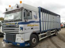 Camion van à chevaux occasion DAF XF-430-EURO3-SCHALTGEGTIEBE