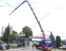 Camion MAN TGS 35.480 PALFINGER PK 50002 EH FLY JIB 8X4 plateau ridelles occasion