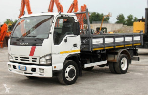 Camión Isuzu nqr175.75 volquete volquete trilateral usado