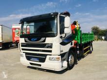Ciężarówka wywrotka używana DAF CF 75.250 LF , XF , nowy kiper 3 - stronny + dzwig HMF 1110