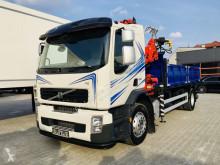 Ciężarówka wywrotka używana Volvo FE 18.280 FM , FL , FH , nowy kiper 3 S + dzwig HIAB 100 , Super