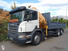 Camion Scania P 340 plateau ridelles occasion