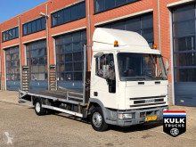 Iveco 75 E 140 / Car - Machine transporter super clean NL truck truck used car carrier