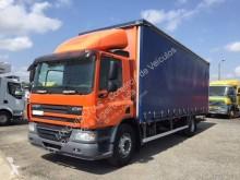 Used tautliner truck DAF CF75 310