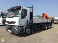 Camión caja abierta usado Renault Premium Lander