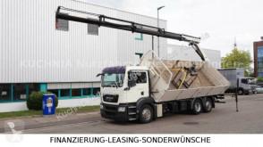 Camion benne occasion MAN TGS 26.400 6x2-2 BL Baustoff 2-S-Kipper PK 16502