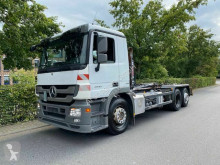 Camion polybenne Mercedes Actros Actros 2541 L 6x2 Abrollkipper HIAB HOOKLIFT XR2