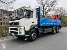 Camion plateau ridelles Volvo FM FM 13.360 6x4 Baustoffwagen KRAN FASSI F150A.23/