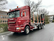Scania R620 6X4 V8 Loglift 96S-78 R Ladekran Holz truck used timber