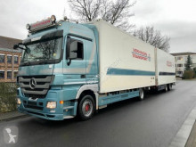 Camion remorque Mercedes ACTROS 1841 Megaspace Kühlwagen komplettzug EEV frigo occasion