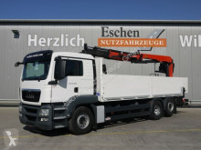 Camión MAN TGS 26.400 6x2LL, Lift/Lenk, Palfinger PK 21001L caja abierta teleros usado