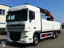 DAF dropside truck XF 105.410*Euro5*Palfinger PK17500*Lift/Lenk*460