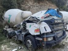 Camion béton toupie / Malaxeur Scania P 410