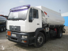 Used oil/fuel tanker truck MAN 18.285