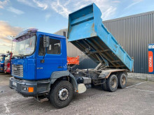 Used tipper truck MAN 27 314 manual full steel