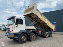 Used tipper truck MAN 41 364 manual full steel