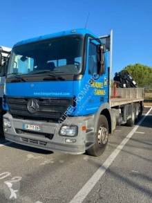 Used flatbed truck Mercedes Actros 2636