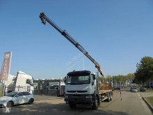 Camion Renault 370 DCI ( - COPMA 150 CRANE - MANUAL GEARBOX plateau occasion