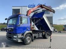 MAN tipper truck TGM 18.290 4x2 Fassi 130 | Meiller 3-Seitenkippe
