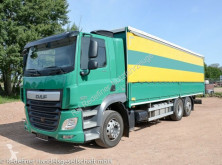 Camion cu prelata si obloane second-hand DAF CF 460 Pritsche/Bordwand Lift.-Lenk orig.71tkm