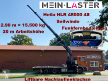 Camion plateau occasion MAN 26.414 HLR 45000 2,9 m- 15.5 t FB + Winde