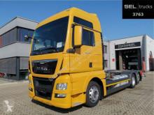 Camion châssis occasion MAN TGX 26.440 6x2-2 LL / Ladebordw./NAVI/Standklima