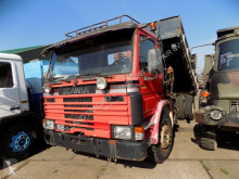 Camion Scania 82 kipper kraan benne occasion