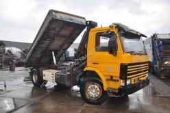 Camion benne Scania 92 kipper kraan