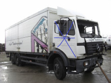Camion fourgon brasseur accidenté Mercedes SK 2527L 6X2 / UNFALL