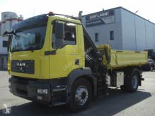Camion tri-benne MAN 18280FK / KRAN