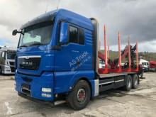 Camion grumier occasion MAN TGX 26.540 6x4 Kran Hiab 120 S 79 Aufbaulange 7.