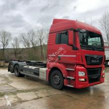 Ciężarówka podwozie używana MAN TGX 26.440 XLX 6x2 EUR 6 Schaltung Interda