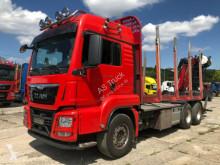 Camion grumier occasion MAN TGS 26.480 6x4 Kran Epsilon M13Z83 Retarder