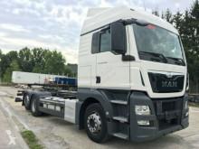 Ciężarówka podwozie używana MAN TGX 26.440 XLX 6x2 EUR 6 Intarder Navi