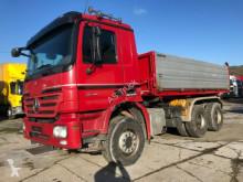 Used three-way side tipper truck Mercedes 2646 6x4 Retarder Motor General Überholt