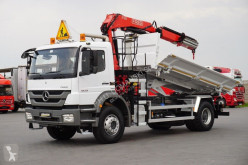 Camion nc MERCEDES-BENZ - AXOR / 1829 / E 5 / WYWROTKA + HDS / ROTATOR benne occasion