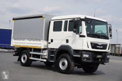 Camión lona corredera (tautliner) MAN TGM - / 13.250 / 4 X 4 / EURO 6 / DOKA / 6 OSÓB