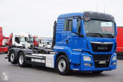 Camión MAN TGS - / 26.440 / E 6 / HAKOWIEC MEILLER / OŚ SKRĘTNA Gancho portacontenedor usado