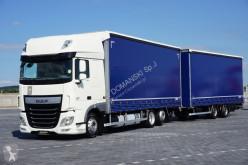 Камион подвижни завеси DAF - 106 / 460 / SSC / EURO 6 / ZESTAW PRZEJAZDOWY 120 + remorque