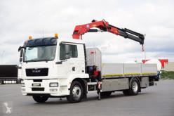 Camion plateau MAN TGM - / 18.290 / E 5 / SKRZYNIOWY + HDS